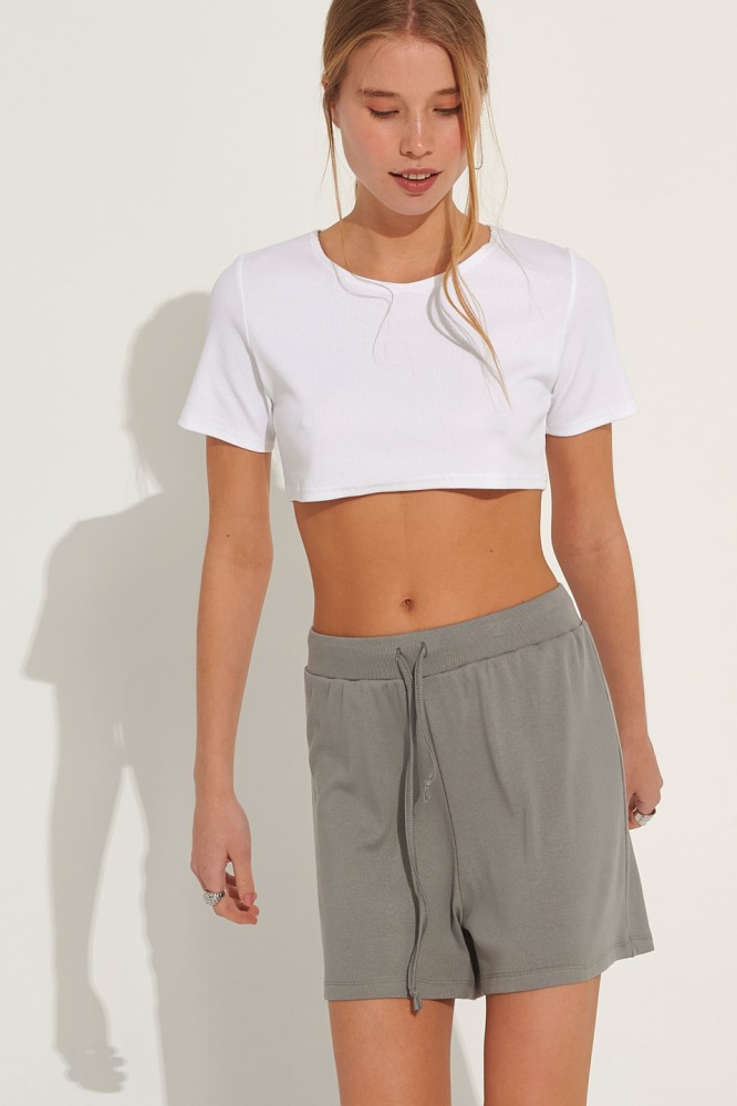 Crop Top New York Style